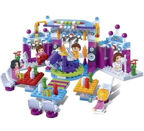 BanBao kit de construction Trendy City Pop Podium 318 pièces