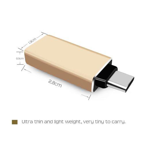 TBS®2226 Adaptateur USB-C vers USB-A - USB 3.1 Type-C Mâle à connecteur USB 3.0 type A Femelle - Rév