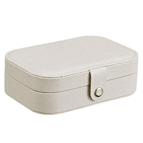 Boucle D'Oreille Affichage Bijoux Bague Boîte de Rangement Organisateur Case Flanelle Plateau Porte-Cadeau Snpl459