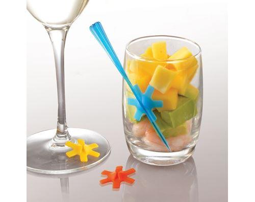 Mastrad - Marque-verres en silicone