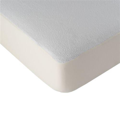 LINANDELLE - Alèse protège matelas imperméable drap housse HYGIENA KID Blanc 60x120 cm