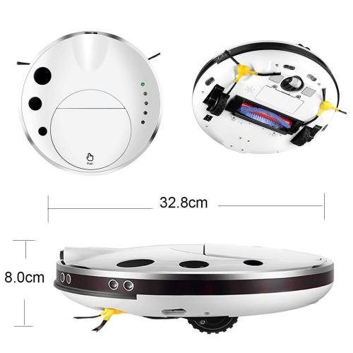 Aspirateur robot ultra mince 4 en 1, nettoyage facile à