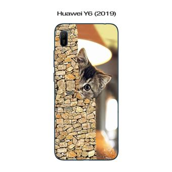 Coque Huawei Y6 (2019) design Chat caché