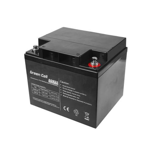 Green Cell AGM Batterie au plomb 12V 40Ah