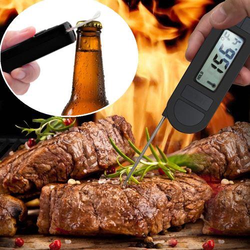 Numérique alimentaire Thermomètre de cuisson instantanée viande thermomètre pour la cuisine BBQ_Kiliaadk30