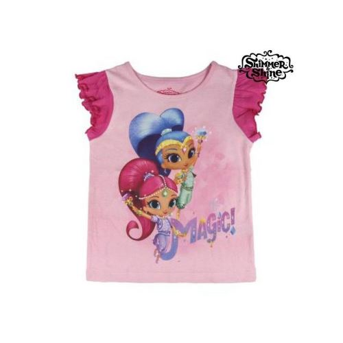 T shirt à manches courtes Enfant Shimmer and Shine 72771 (Taille 4 ans)