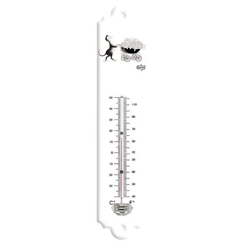 Thermomètre Famille - Chats de Dubout