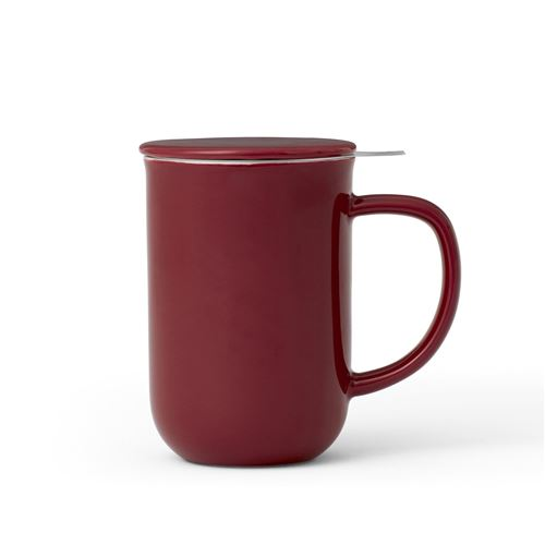 Viva Scandinavia (V77540) Tasse à thé Balance Minima™ - Rouge - 500 ml