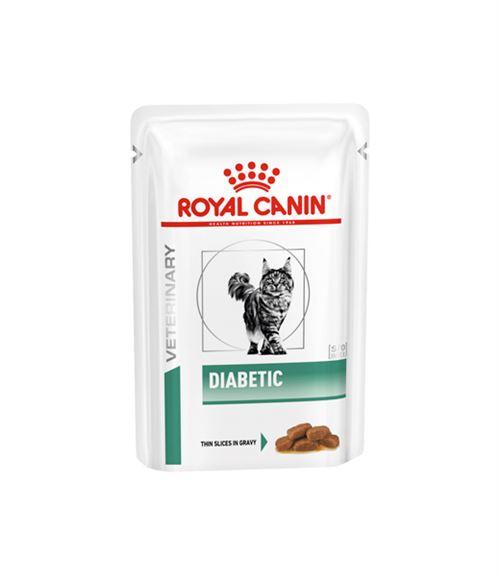 Royal Canin Veterinary diet cat diabetic - 12 Sachets 85g