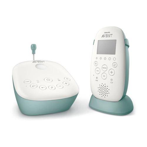 Philips Avent Scd731/26 Ecoute-bebe Dect Lcd - Bleu Et Blanc