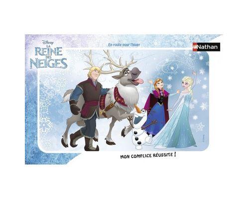Puzzle cadre 15 pièces Nathan En route pour l'hiver Disney La Reine des Neiges