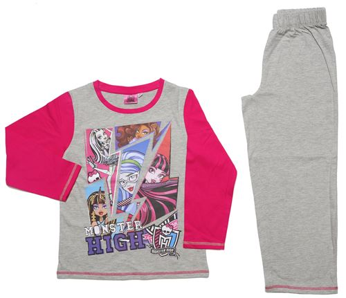 Monster High pyjama fille en coton
