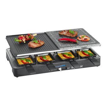 Bomann RG 2279 CB 2 in 1 - raclette/grill/hete steen