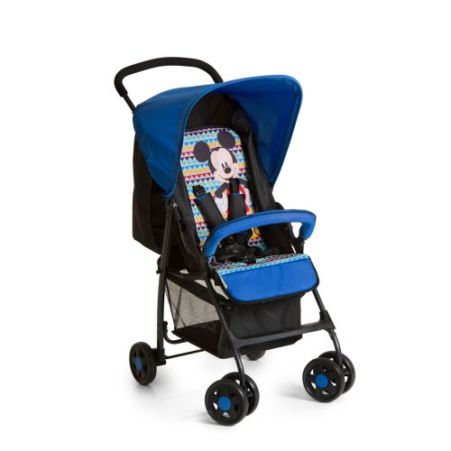 Poussette Buggy Sport - Mickey Geo Bleu