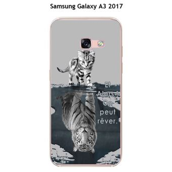 coque galaxy a3 2017 chat