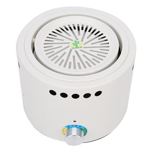 Humidificateur Purificateur de filtre à air domestique 100-240V prise américaine blanc