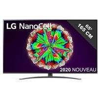 TV intelligente LG NanoCell 65NANO816 65 4K Ultra HD LED WiFi Noir