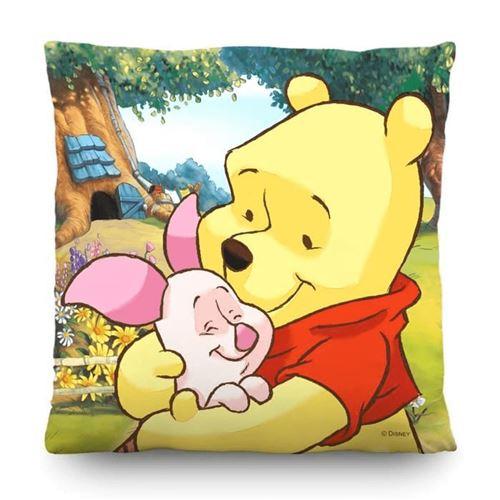 Coussin - Disney Winnie l'ourson et Porcinet 40 cm x 40 m