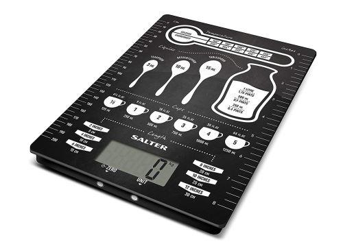 Balances de cuisine numériques Salter Conversions - Balance électronique pour la cuisson, Design moderne facile à nettoyer, cadeau parfait pour les chefs cuisiniers / cuisiniers - Garantie de 15 ans