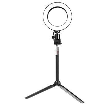 Lampe Anneau Light Vidéo Noir De Lumière Maquillage Led Le Eclairage Ring Godyluck Bicolore Circulaire Pour q4j35RAL