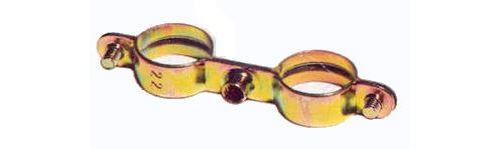 Colliers doubles - Diamètre : 22 - le sachet de 5