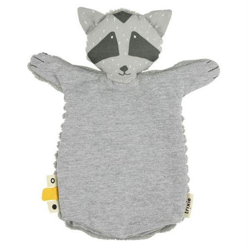 Trixie marionnette à main Mr. Raccoon28 x 21 cm coton/polyester gris