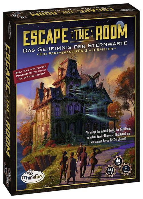 Ravensburger 76313 Thinkfun Escape The Room – Le Secret des étoile d'attente - Jeu en langue allemande