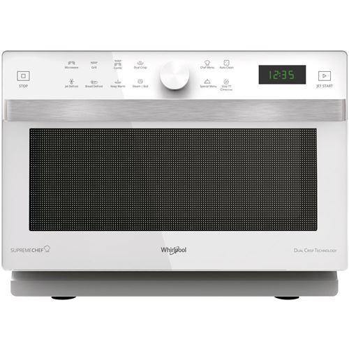 Whirlpool mwp 337 w comptoir - micro-ondes (comptoir, micro-ondes grill, 33 l, 900 w, rotatif, tactil, blanc)