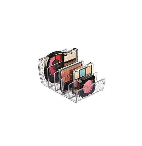 Rangement à cosmétiques - 5 compartiments - Plastique - 13,5 x 10,3 x 7,3 cm