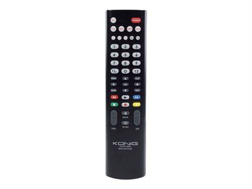 Télécommande universelle pour 8 appareils könig