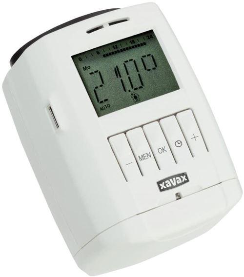 Xavax Radiateur Thermostat Régulateur (Individuelle Chauffage, Silencieux) Blanc