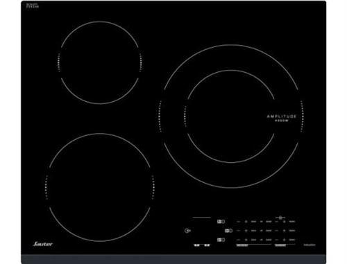 Sauter SPI4360B - Table de cuisson à induction - 7200W - 3 foyers - Noir