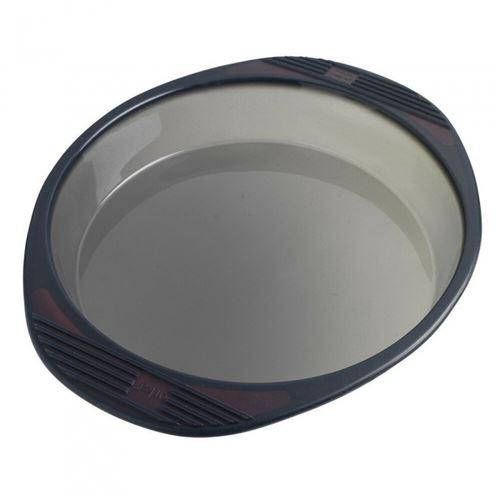 Mastrad - Moule à Manqué Rond - Silicone - Noir translucide