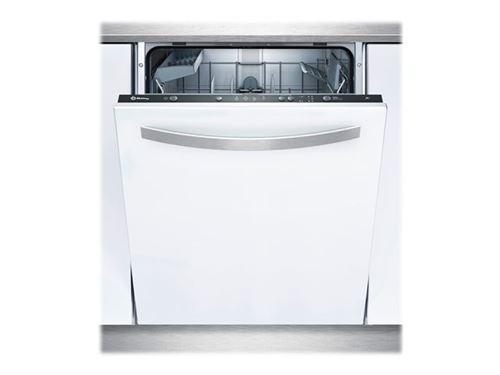 Balay 3VF301NP - Lave-vaisselle - intégrable - Niche - largeur : 60 cm - profondeur : 55 cm - hauteur : 81.5 cm - noir