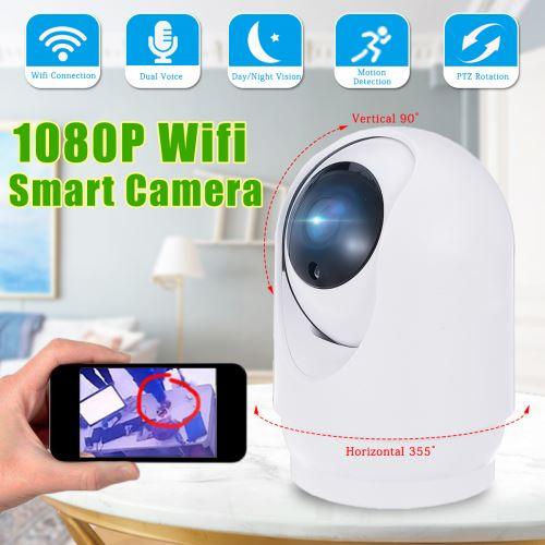 Moniteur de caméra IP intelligente WiFi HD 1080P GUUDGO Accueil