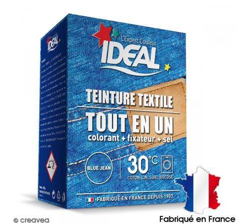 Kit complet teinture Ideal Tout en Un - Maxi bleu jean - 350 gr
