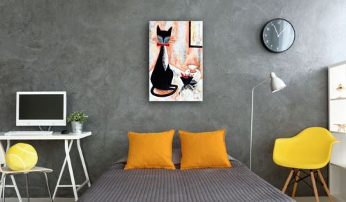 Tableau - The True Gentleman .Taille : 60x90