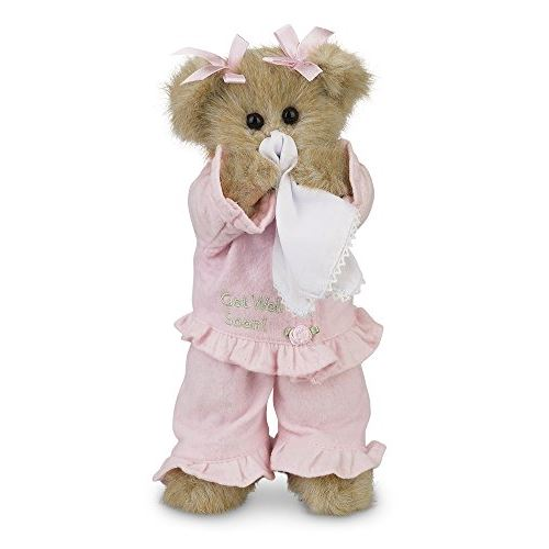 Bearington Sicky Vicky Get Well Soon Stuffed Animal Teddy Bear 10