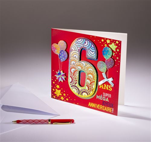Carte double Coll'Âge- 6 ans