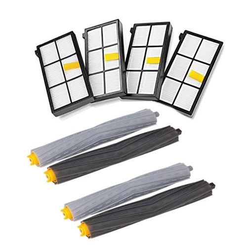 Kit de Pièces de Rechange Brosses Accessoires Pièces Pour Roomba Série 800 900 Pack Kit. BT168