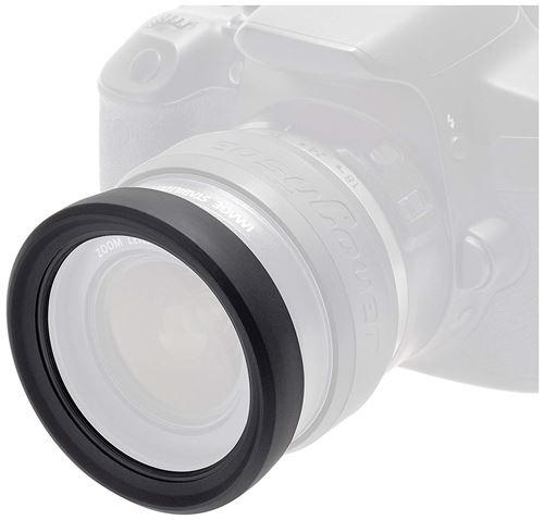 Easycover Eclr58 Protection En Silicone Pour Objectif 58 Mm Noir