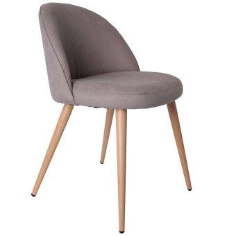 fauteuil gris style scandinave vintage achat prix fnac - Fauteuil Scandinave Vintage