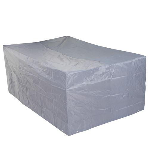 Housse de protection pour garniture de jardin, gaine de protection, gris ~ 75x255x120cm
