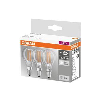 Claire 40 W Osram 3 Spherique Equivalent Led 4 Blanc Lot Ampoules E14 A Froid De VqUzSMp