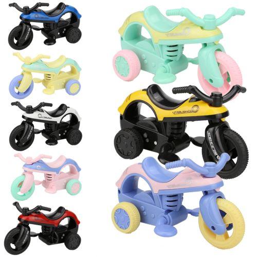 Mini Véhicule avec Big Vélo Tirez sur pneus Tire Créatifs Cadeaux pour Enfants Multicolore PT089