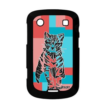 Coque Pour Blackberry Bold 9900 Chat Azteque Swag Dessin Cube Homme