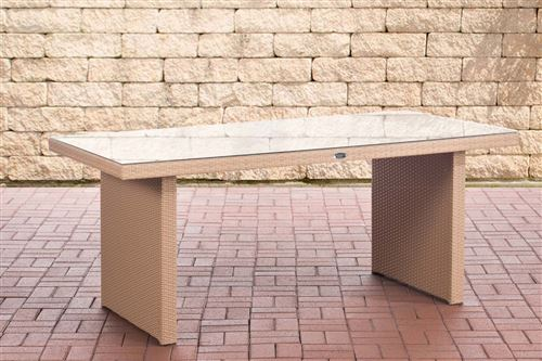 Table de Jardin Avignon , Sable/180 cm