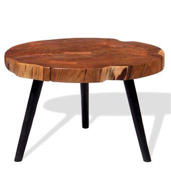 D'acacia 40 Table Basse Massif55 Vidaxl Bois 60X Cm MjLqUSzVpG