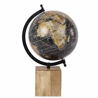 l 39 h ritier du temps grande mappemonde globe terrestre d coratif rotatif planisph re sur pied. Black Bedroom Furniture Sets. Home Design Ideas