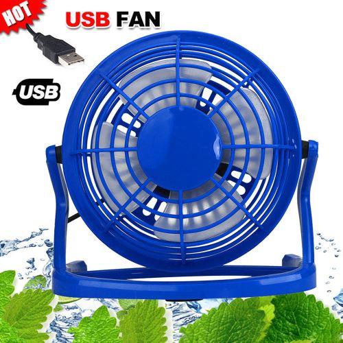 NOUVEAU Portable Mini ventilateur super Mute PC USB Cooler bureau pour ordinateur portable Ordinateur portable